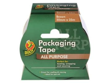 Duck Tape® Packaging Tape 50mm x 25m Brown